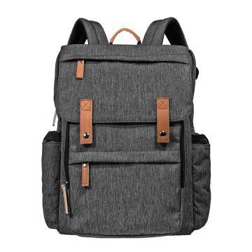 Hap Tim Diaper Bag Backpack Muilti-Function Waterproof Large Capacity Travel Diaper Backpack (K1004US-DG)