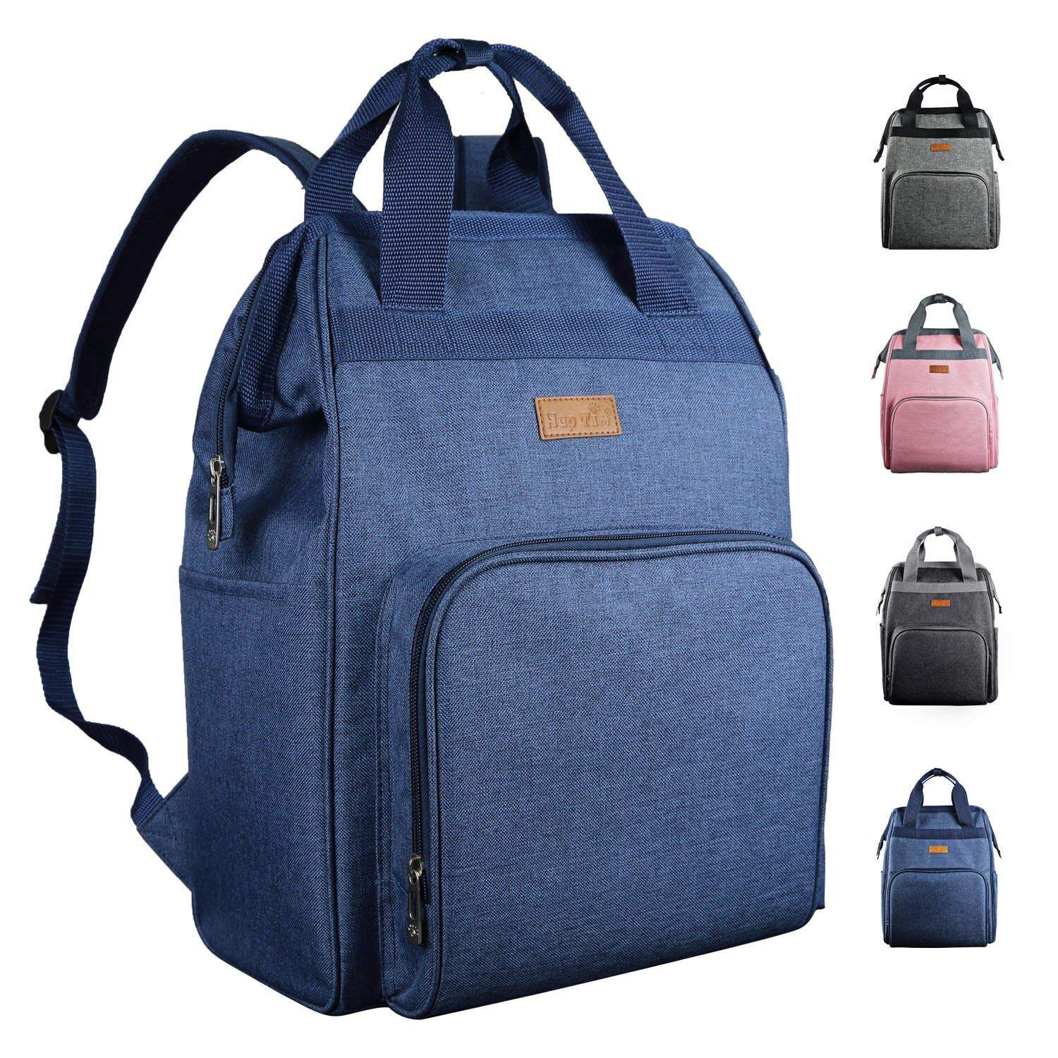 Hap Tim Diaper Bags Backpack-Smart Organizer Large Capacity Multifunction/Stylish for Women and Men(US5337BL) 0