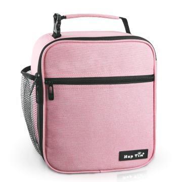 Hap Tim Insulated Lunch Bag Women Girls,Reusable Lunch Box Kids Girls,Spacious Lunchbox Adult Cooler Bag (18654-PK)