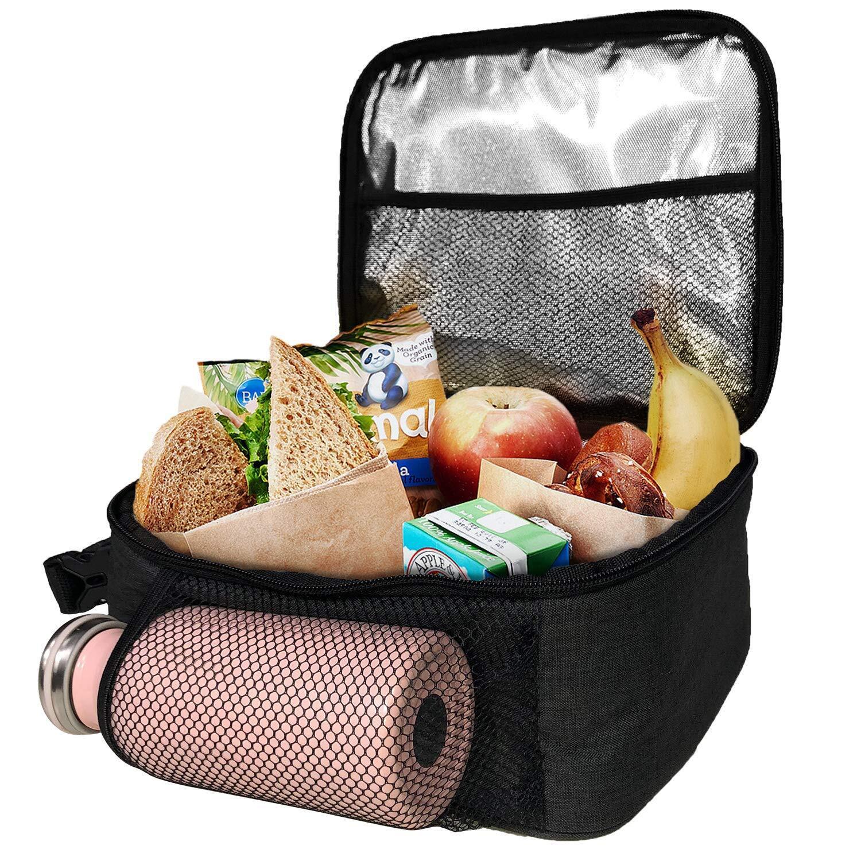 hap tim insulated lunch bag for men women reusable lunch. Black Bedroom Furniture Sets. Home Design Ideas