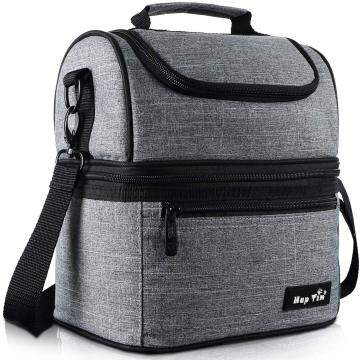 Hap Tim Lunch Box Insulated Lunch Bag Large Cooler Tote Bag  (16040-G)