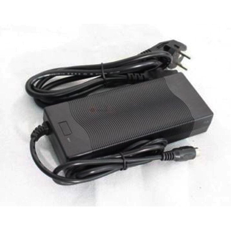 54.6V 5A Lithium Battery Charger For 48V Li-Ion Battery Ebike with GX16-3 Plug
