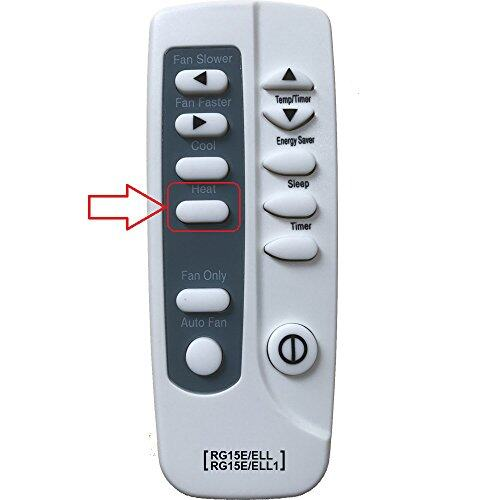 Replacement For Frigidaire Air Conditioner Remote Control
