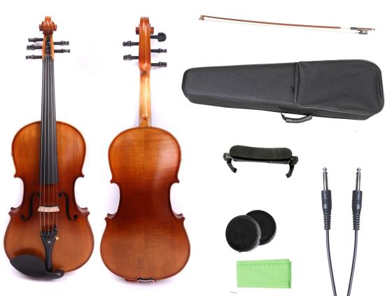 electric violin, electric cello, electric guitar, violin bow