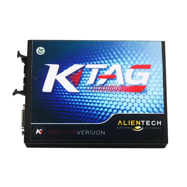 New V2.10 FW V5.001 KTAG K-TAG ECU Programming tool Master Version 0