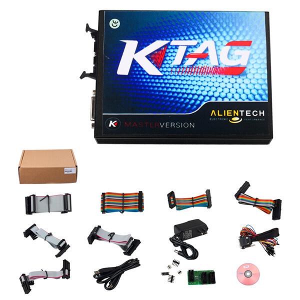 New V2.10 FW V5.001 KTAG K-TAG ECU Programming tool Master Version 8