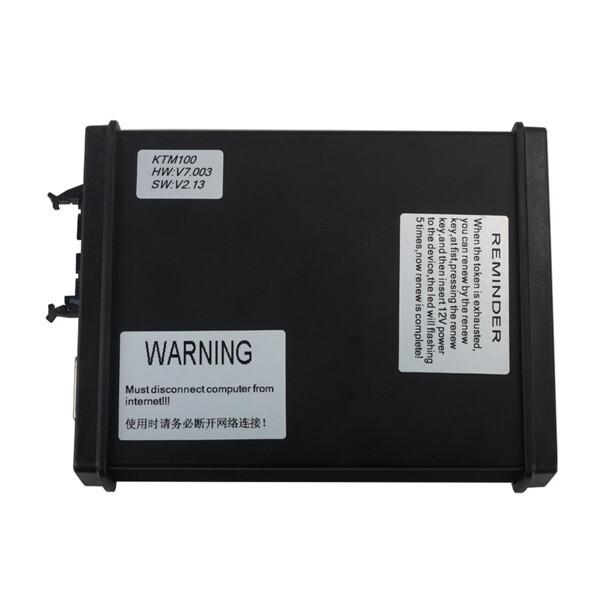V2.13 FW V7.003 KTM100 KTAG ECU Programming Tool Master Version with Unlimited Token 0