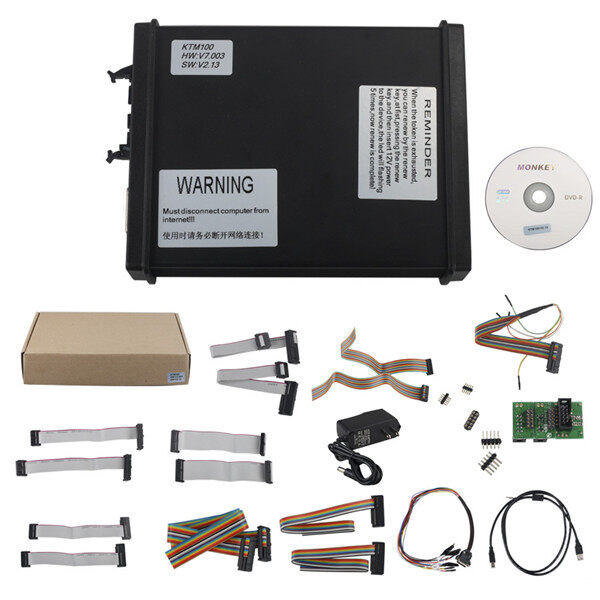 V2.13 FW V7.003 KTM100 KTAG ECU Programming Tool Master Version with Unlimited Token 7
