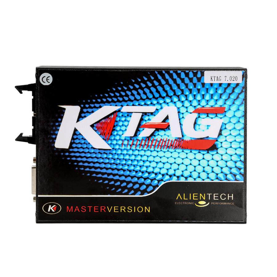 V2.23 KTAG ECU Programming Tool Master Version Firmware V7.020 with Unlimited Token Main Unit for Sale 0