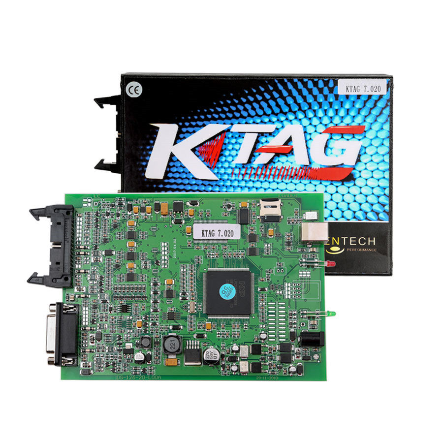 V2.23 KTAG ECU Programming Tool Master Version Firmware V7.020 with Unlimited Token Main Unit for Sale 6