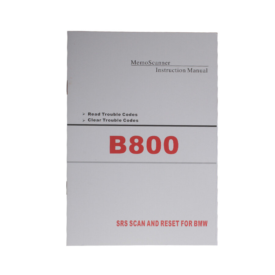 B800 Airbag Scan/Reset Tool for BMW 4