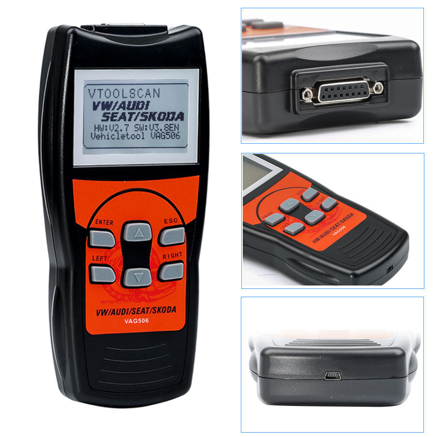 VAG506 VAG Professional Scan Tool with Oil Reset and Airbag Reset Function 7