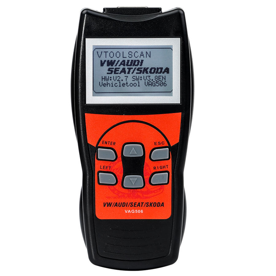 VAG506 VAG Professional Scan Tool with Oil Reset and Airbag Reset Function 0