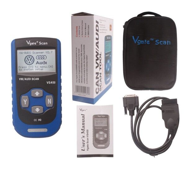 VS450 VAG CAN OBDII SCAN TOOL 8
