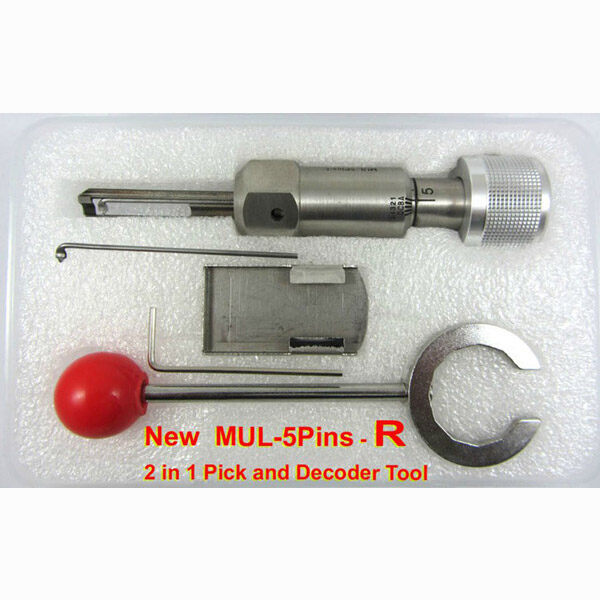 New MUL-5Pins-R 2 in 1 Pick and Decoder Tool(R-UP) 0