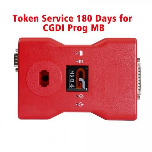 Token Service 180 Days for CGDI Prog MB Benz Car Key Programmer 0