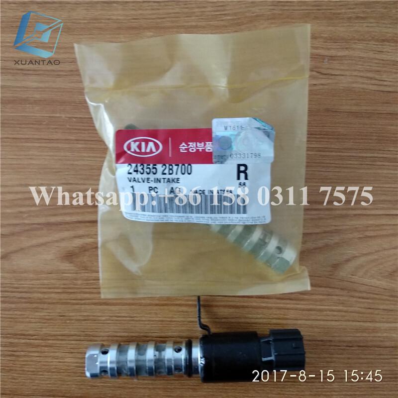 STOCK OE 24355-2B700 243552B700 Variable Timing Solenoid For Korea Car 2