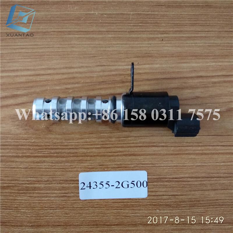 STOCK OE 24355-2G50022100-25013 22100-2G000 Variable Timing Solenoid For Korea Car 2