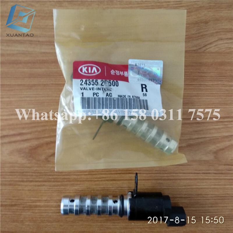 STOCK OE 24355-2G50022100-25013 22100-2G000 Variable Timing Solenoid For Korea Car 3