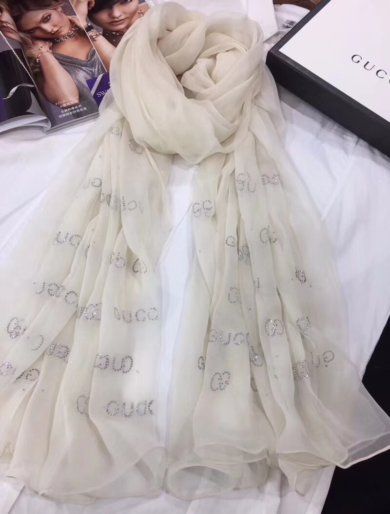 3 color choose  Hot drill Long silk  crinkle chiffon scarf 110*180CM--ss006h 8