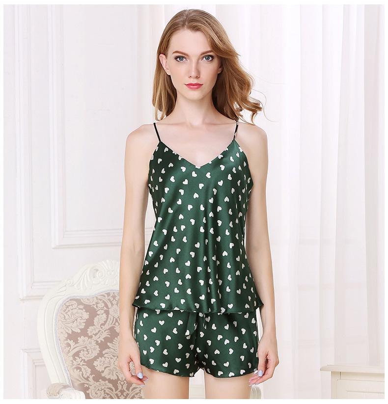 silk pajamas wi  sleeves Mulberry silk shirt home dress  T8118 2