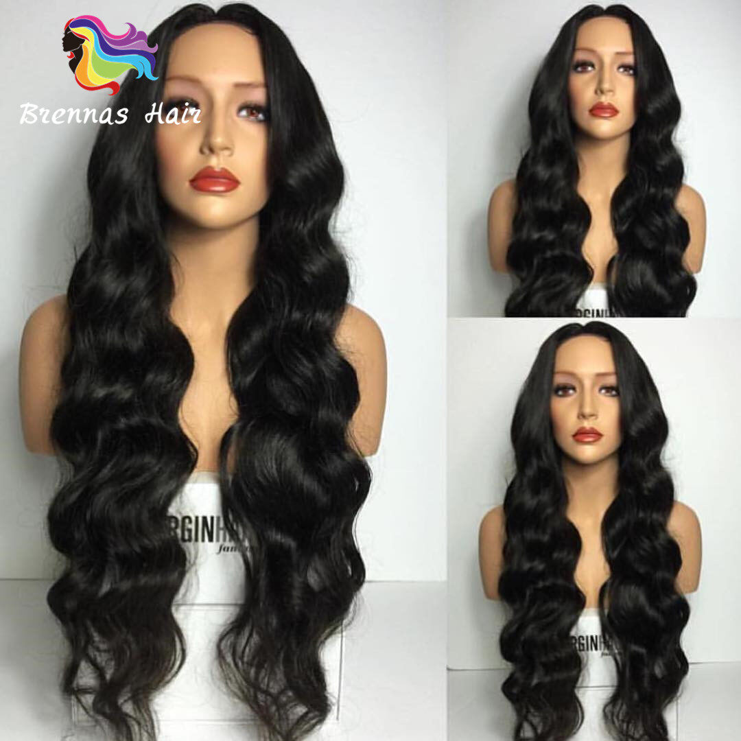 Front Lace Body Wave Human Hair Wigs For Black Women Cheap