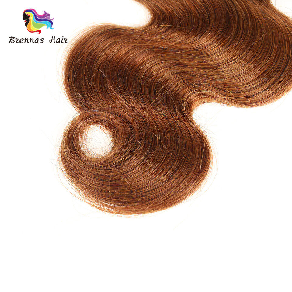 Body Wave Hair Bundles ombre color #1b/30 Brazilian Peruvian Malaysian 100% Virgin Hair Can Be Dyed and Bleached 2