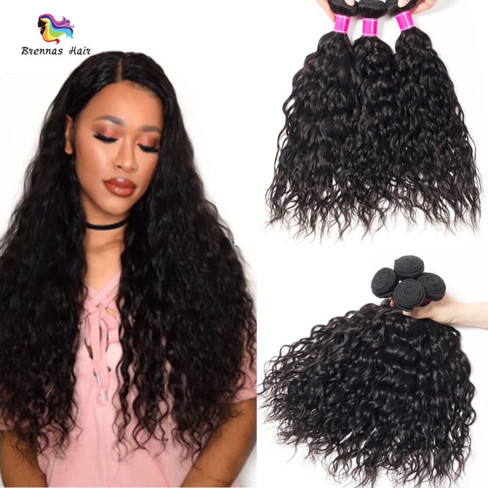Brazilian Natural Wave Hair Bundles 3pcs 8 26inch Natural Black
