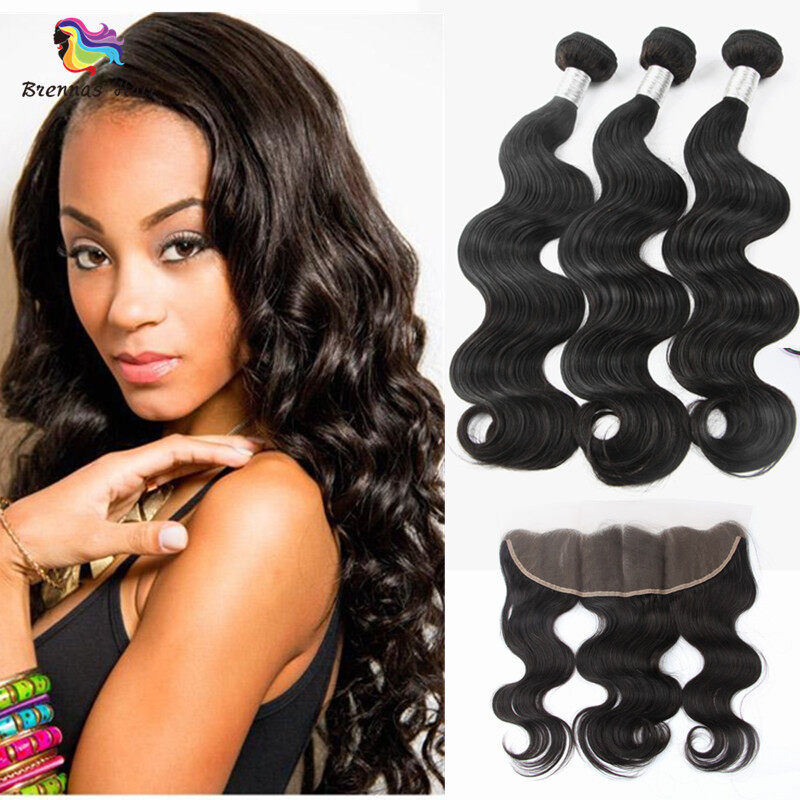 black hairstyles hair styles wave 3bundles with 13x4 lace closure baby hair for 2399