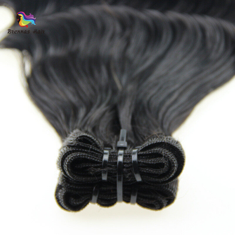 Unique Fummi hair weaves 8-26inch ban deep spring curly brazilian human hair bundles for black women natural color best quality 2