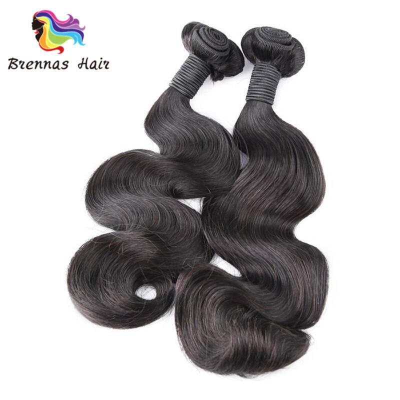 Funmi body double human hair 3 bundles high quality no shedding free tangle for balck women 2