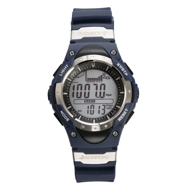 SUNROAD FR718 Fishing Barometer watch Men Sports Watch-Digital Altimeter Thermometer Weather Forecast LCD Display Men Watches  1