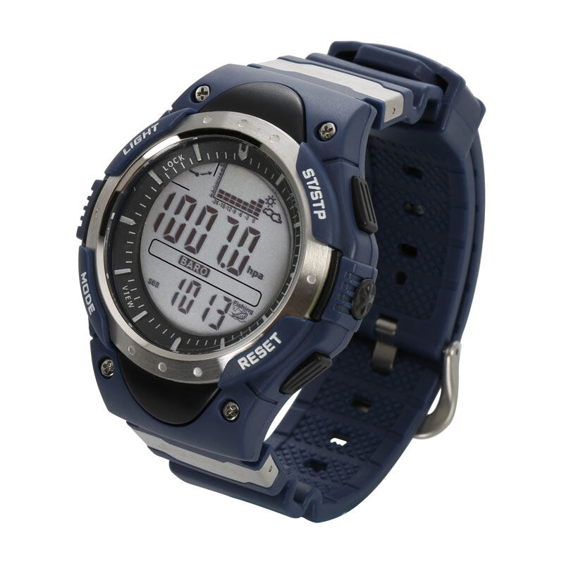 SUNROAD FR718 Fishing Barometer watch Men Sports Watch-Digital Altimeter Thermometer Weather Forecast LCD Display Men Watches  3