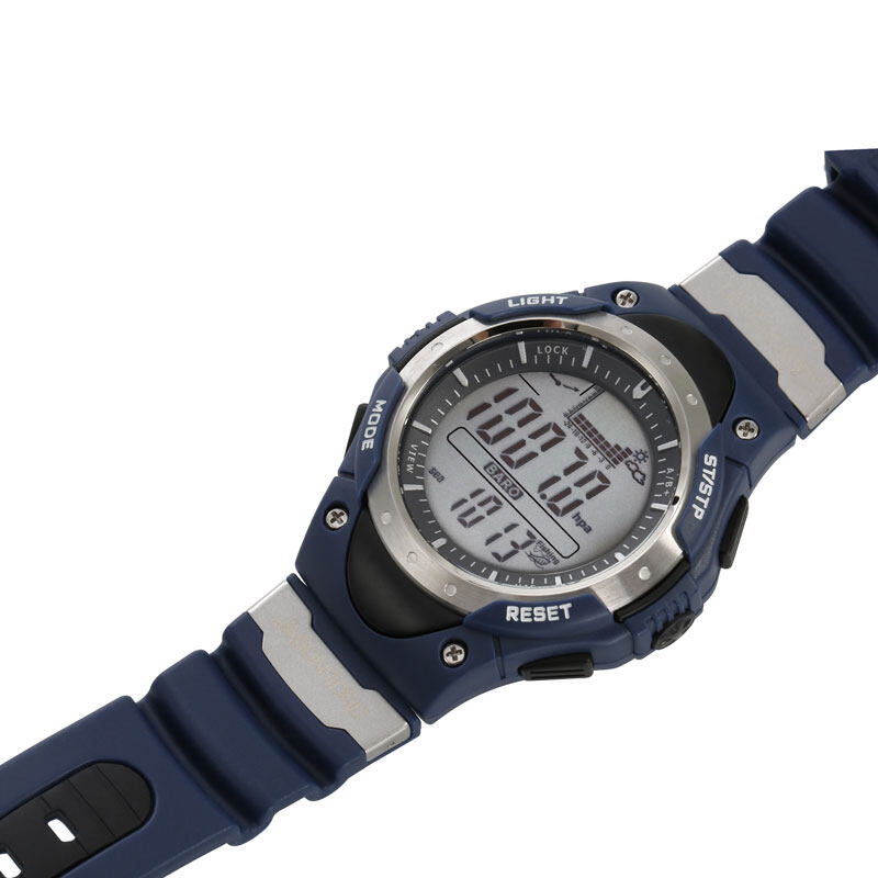 SUNROAD FR718 Fishing Barometer watch Men Sports Watch-Digital Altimeter Thermometer Weather Forecast LCD Display Men Watches  9