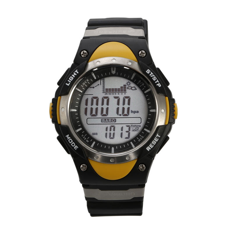 SUNROAD FR718 Fishing Barometer watch Men Sports Watch-Digital Altimeter Thermometer Weather Forecast LCD Display Men Watches  0