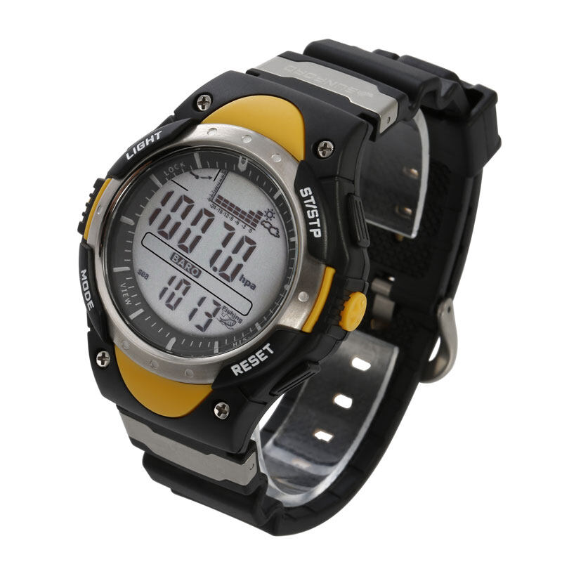 SUNROAD FR718 Fishing Barometer watch Men Sports Watch-Digital Altimeter Thermometer Weather Forecast LCD Display Men Watches  4