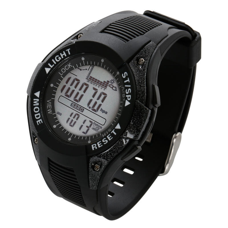 SUNROAD FX702A Men Fishing Barometer Watch-Digital Outdoor Sports watch with Thermometer Altimeter Weather forecast Clock 2