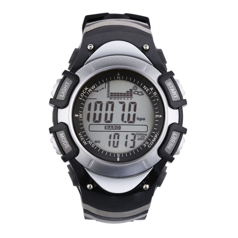 SUNROAD FX702A Men Fishing Barometer Watch-Digital Outdoor Sports watch with Thermometer Altimeter Weather forecast Clock 6