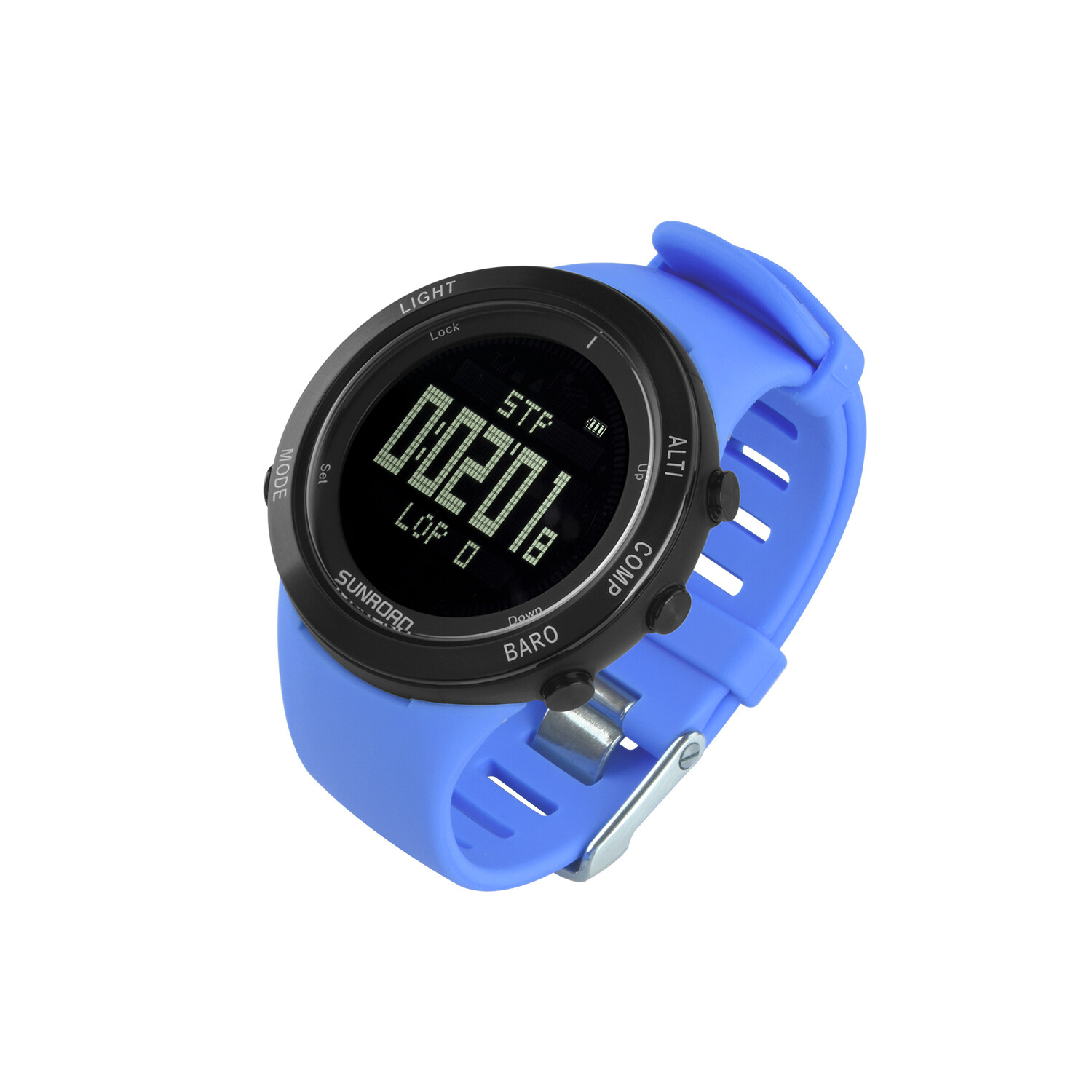 Sunroad heart rate outdoor sports watch with Pedometer, altimeter, climb data, hiking, camping, traveling watch waterproof 10