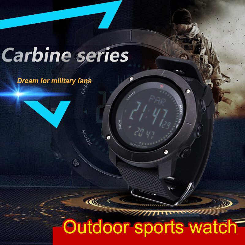 Outdoor sports watch for running walking climbing swimming camping carbine series 0