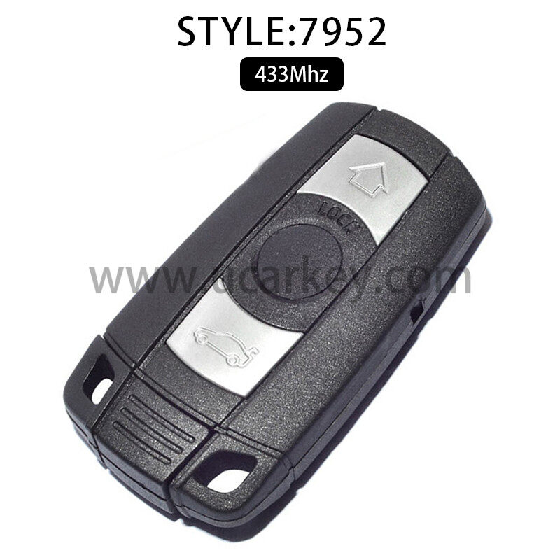 For BMW Smart Card keyless Go 3 5 Series 433MHz ID46(PCF7952) 0
