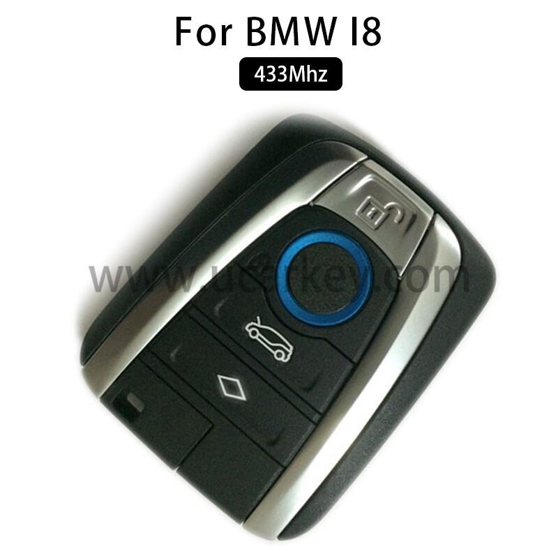 AK006051 for BMW I8 Smart Card 4 Button 434MHz PCF7953P Part No 5FA 011 226-15 0