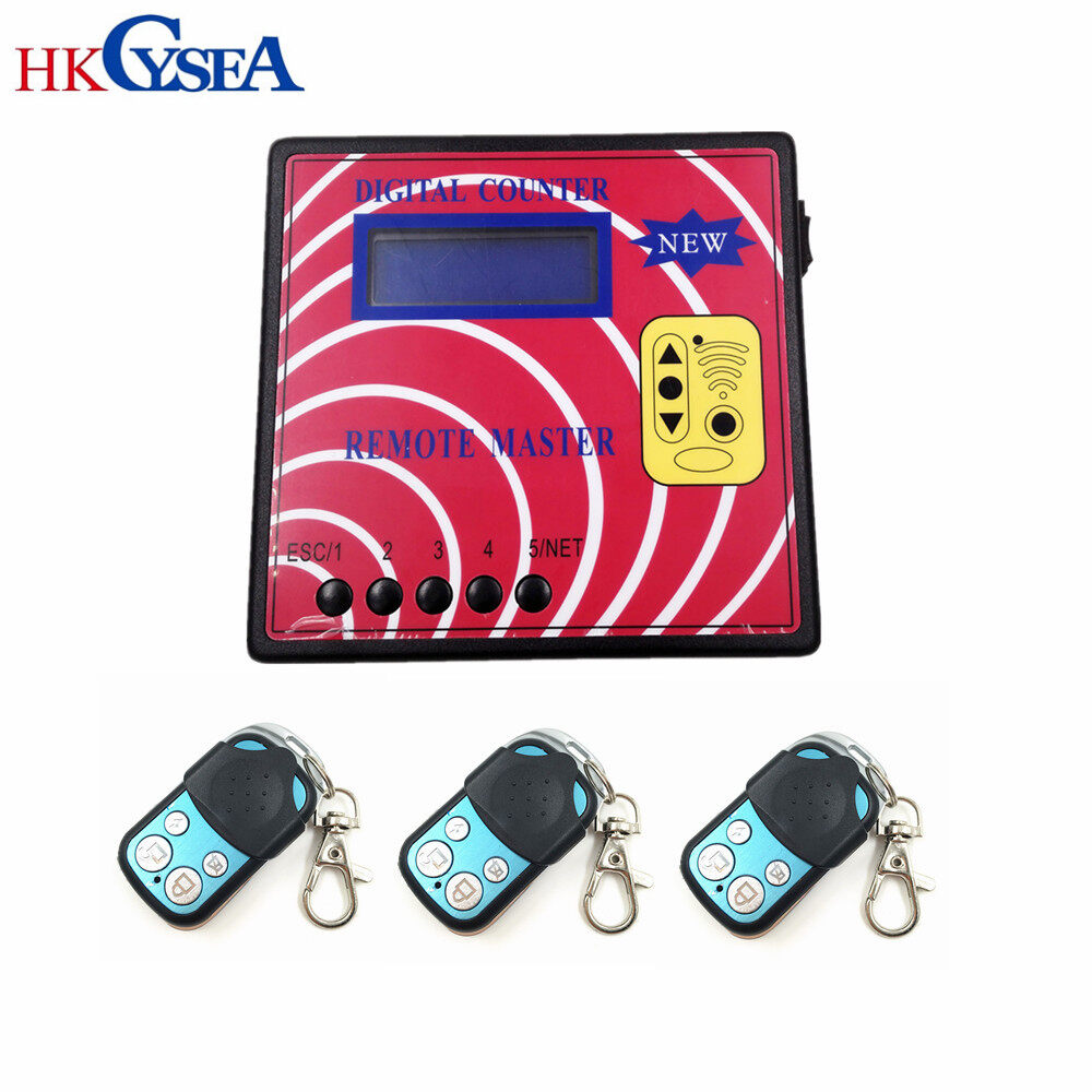 Computer Car Door Remote Control Key Copy Machine Digital Counter Remote Master With 4pcs Fixed Code Keys 0