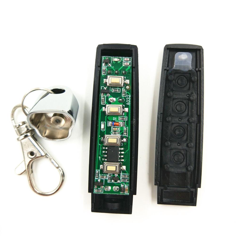 5pcs,MINI Cloning Wireless Auto Garage Door Remote Control Transmitter Duplicator ( Face To Face Copy) 315/330/433MHZ 3