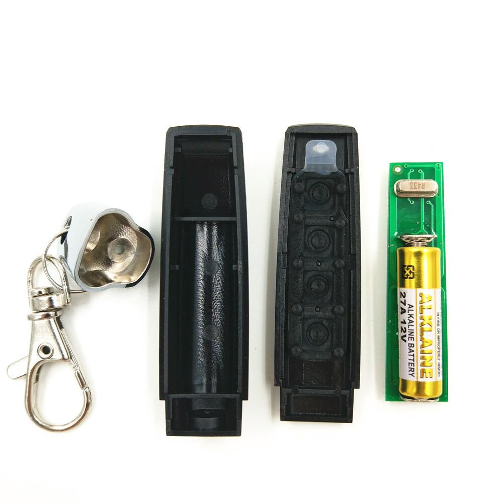 5pcs,MINI Cloning Wireless Auto Garage Door Remote Control Transmitter Duplicator ( Face To Face Copy) 315/330/433MHZ 4