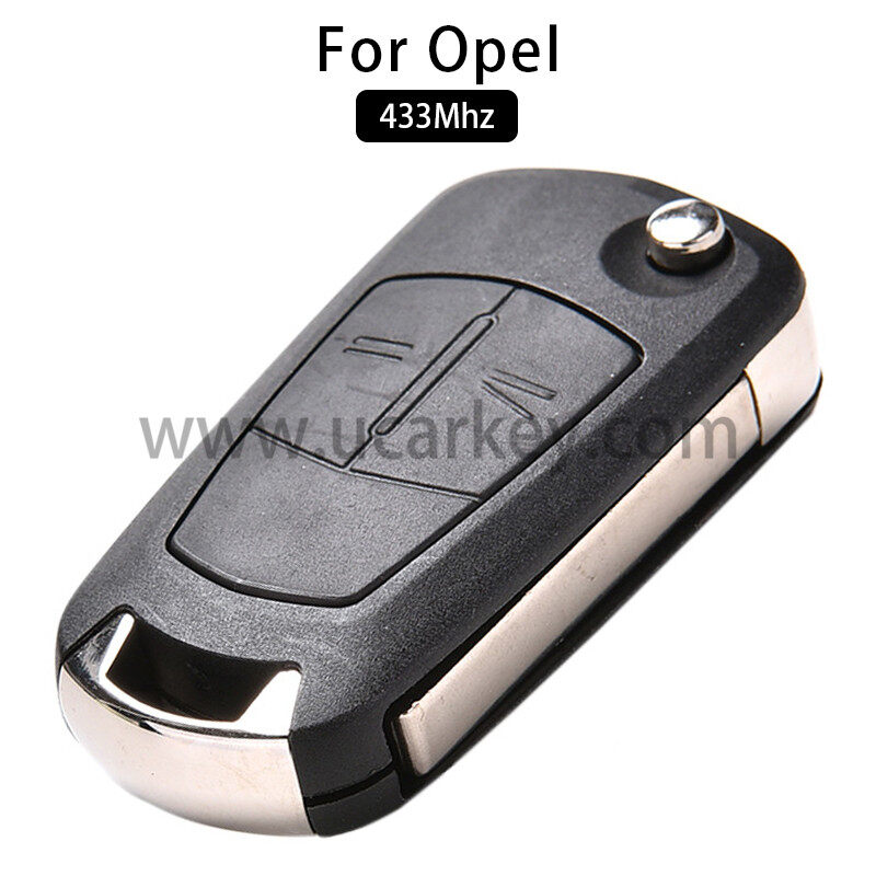 AK028019 2 Button Remote Car Key Fob 433Mhz PCF7941 for Vauxhall Opel Corsa D 2007-2012 0