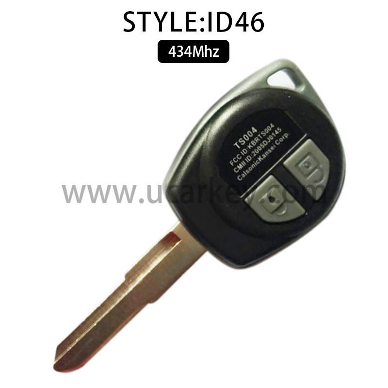 AK048005 for Suzuki SX4 434MHZ Aftermarket FSK ID46 Chips HU133R FCCID: KBRTS004 CMII ID: 2005DJ0145 0