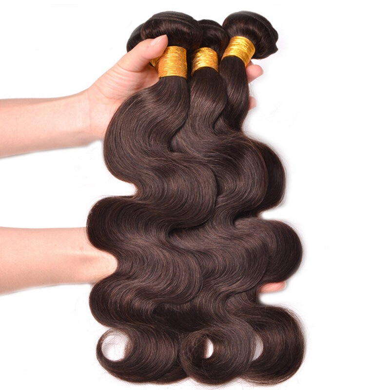 Glamorous Remi Hair Color 2 Body Wave Hair Bundles 100 Human Hair