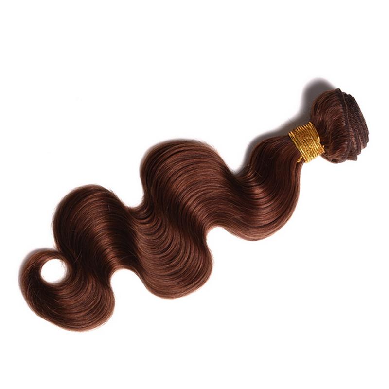 Glamorous Remi Hair Color 4 Body Wave Hair Bundles 100 Human Hair