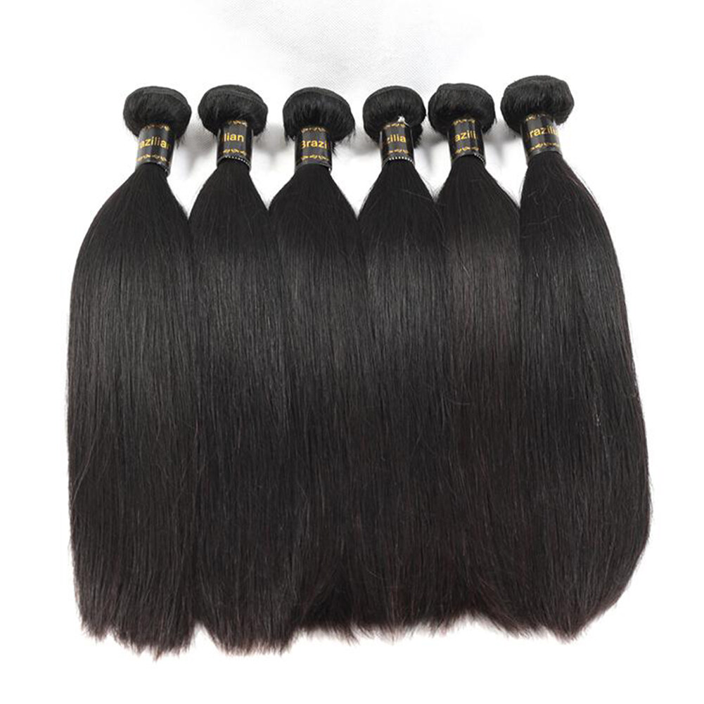 Glamorous Remi Hair 10 Pcs Straight Hair 100 Virgin Human Hair